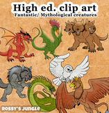 High Ed. Clip Art Volume 2: Fantastic Creatures or Mythological Beasts