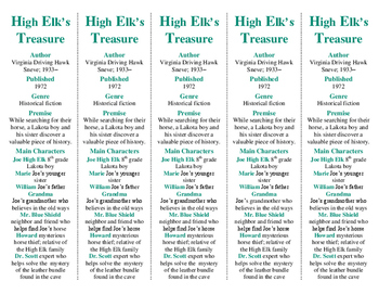 "High Elk's Treasure ed. of Bookmarks Plus—Great ""gift""/Handy reading aid!"