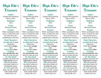 High Elk's Treasure ed. of Bookmarks Plus—Fun Freebie; Handy Little Reading Aid!