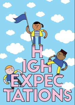 High Expectations Poster Motivational