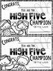 High Five Behavior Management System