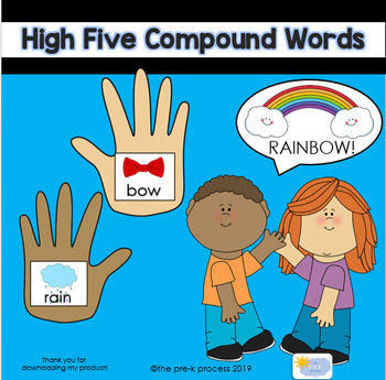 High Five Compound Words Activity