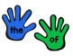 High Five! Alphabet and Sight Word Entrance/Exit Activity [PLUS FREEBIE]