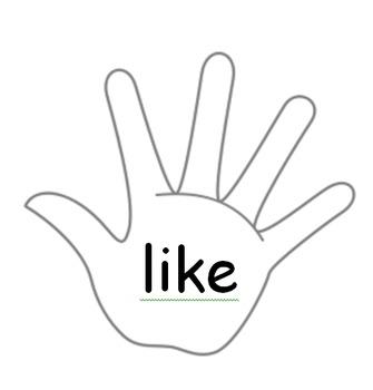 High Five Hands - Sight Words (K/1)