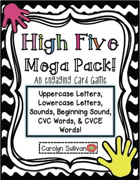 High Five- MEGA Pack: An Engaging Card Game