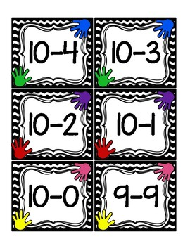 High Five: Math Facts to 10 - An Engaging Card Game!