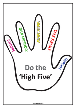 High Five - No Bullying