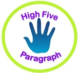 High Five Paragraph Strategy with Powerpoint and Worksheets
