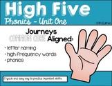 Kindergarten Journeys Phonics Activity: Common Core Aligned
