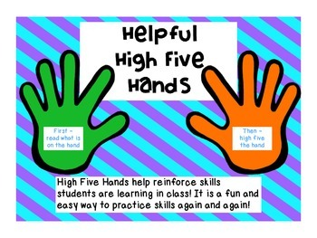High Five Reinforcing Hands