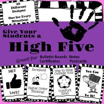 Student Reward Certificates for Achievement, Recognition, and Motivation