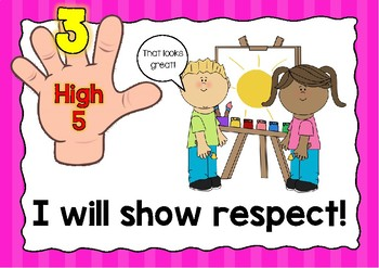 High Five Rules Posters