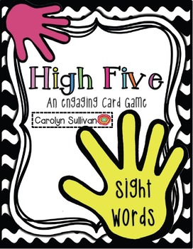 High Five- Sight Words: An Engaging Card Game