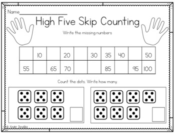High Five! Skip Counting by Fives