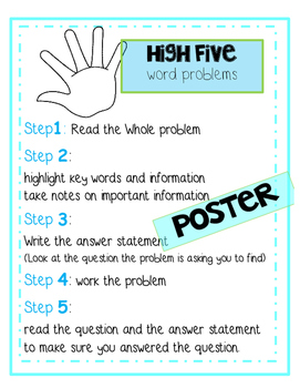 High Five Word Problems