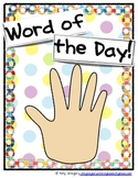High Five: Word of the Day