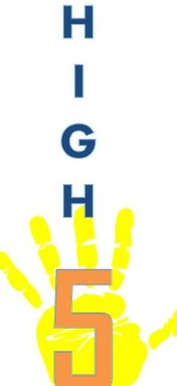 High Five! a game to practice math facts and quick mental math