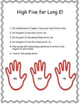 High Five for Long E!