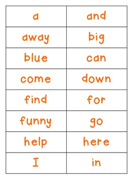 High Five for Sight Words!