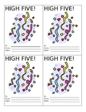 High Fives - Editable Motivation Tool
