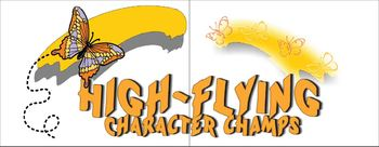 High Flying Character Champs Poster Set