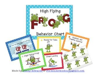 High Flying Frogs Behavior Management Chart