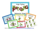 High Flying Frogs Behavior Management Chart