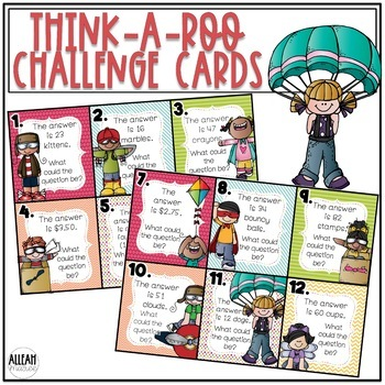 High Flying Think-A-Roos: Challenge Cards for your High Fliers