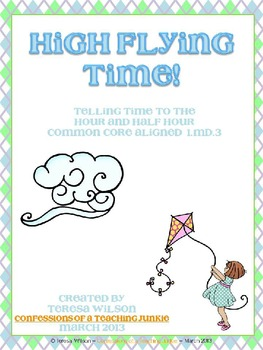 High Flying Time - Time to the Hour and Half Hour