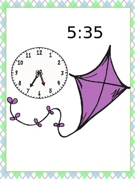 High Flying Time - Time to the Nearest 5 Minutes