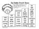 High Freq. Word Fluency Intervention: Editable Full Set Fr