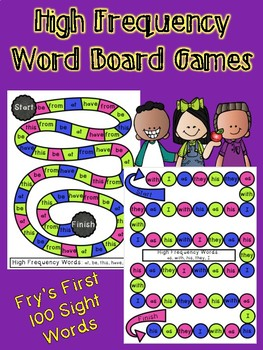 High Frequency Board Games