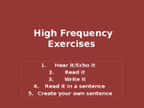 High Frequency Exercises_04