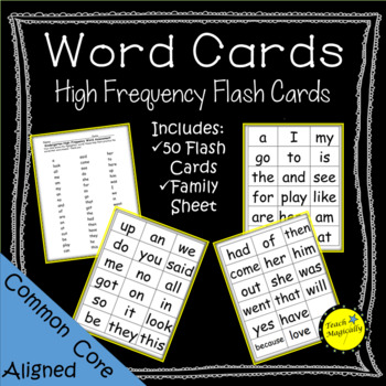 High Frequency Flash Cards