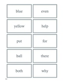 High Frequency Flash Cards Unit 1 Wonders 2nd Grade