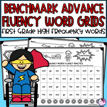 High Frequency Fluency Practice for Benchmark Advance First Grade