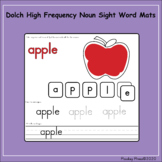 Dolch High Frequency Noun Sight Word Mats