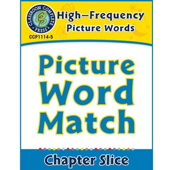 High-Frequency Picture Words: Match and Print
