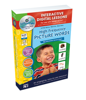 High Frequency Picture Words - NOTEBOOK Gr. PK-2
