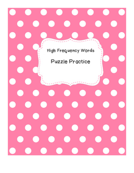 High Frequency Practice with Puzzles