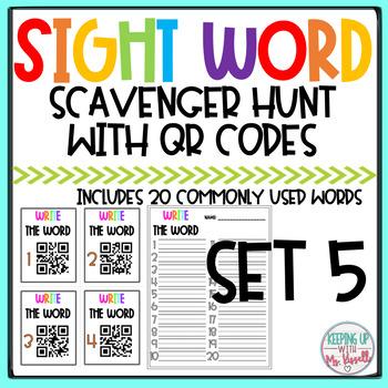 High Frequency QR Code Scavenger Hunt 5