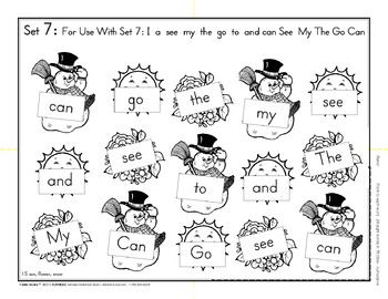 EZ2READ High Frequency SIGHT WORD FOLDIE BOOKS®
