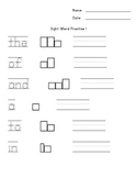 High Frequency (Sight) Word Practice Sheets
