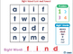 High Frequency Sight Words: Match and Print - NOTEBOOK Gr. 5-8