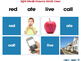 High Frequency Sight Words: Memory Match Game - NOTEBOOK Gr. PK-2