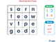 High Frequency Sight Words: Mixed Up Word Swap - NOTEBOOK