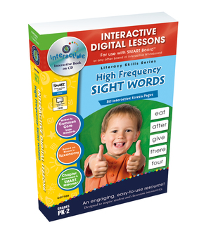 High Frequency Sight Words - PC Gr. PK-2