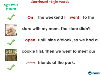 High Frequency Sight Words: Sight Word Stories - PC Gr. 5-8