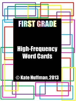 High Frequency / Sight Words for First Grade