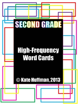 High Frequency / Sight Words for Second Grade